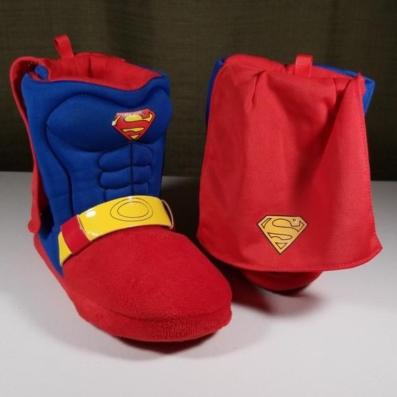 Girls ToddlerSize 7//8 Superhero Super Hero Wonder Woman House Shoes